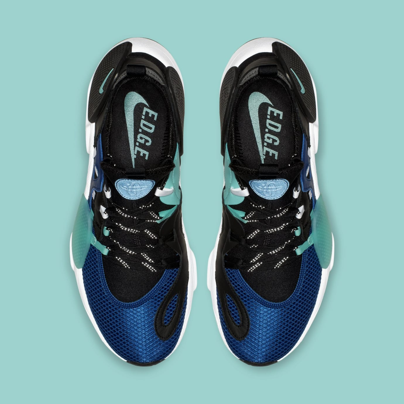 Nike Huarache E.D.G.E. TXT 'Indigo Force/Black' BQ5205-400 (Top)