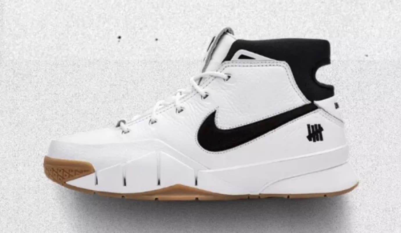 UNDFTD x Nike Kobe 1 Protro 'White/Gum'