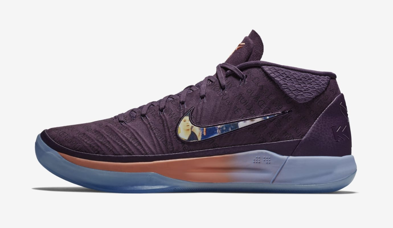 Nike Kobe A.D. Mid 'Devin Booker PE' (Lateral)