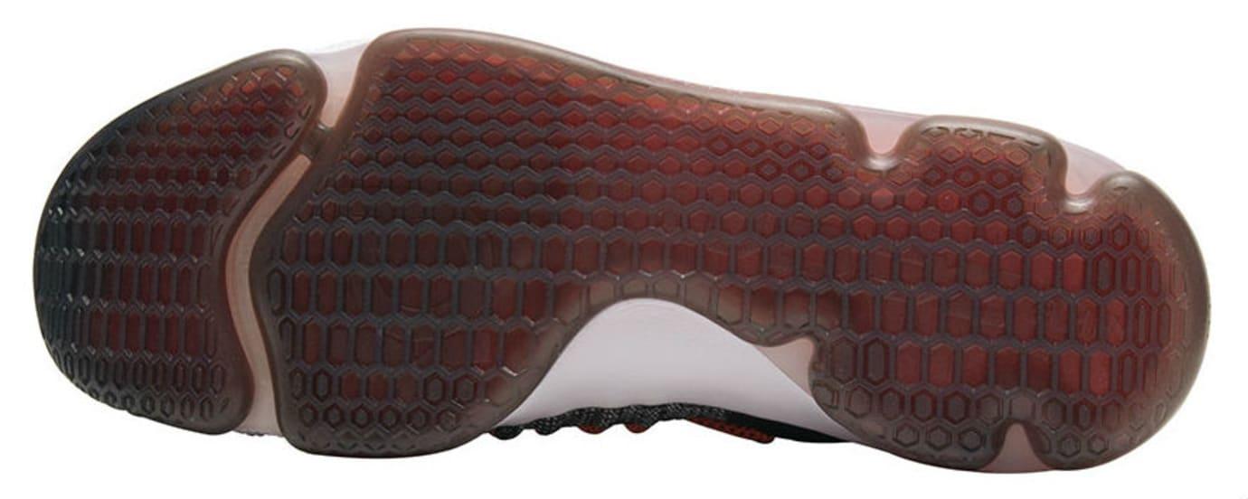 Nike KD 9 Elite Black White Dark Grey Hyper Orange Release Date Sole 878637-010