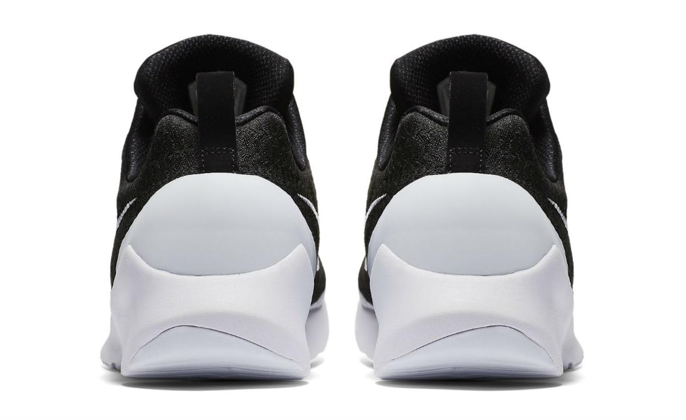 Nike HyperAdapt 1.0 Black/White Release Date AH9389-011 Heel