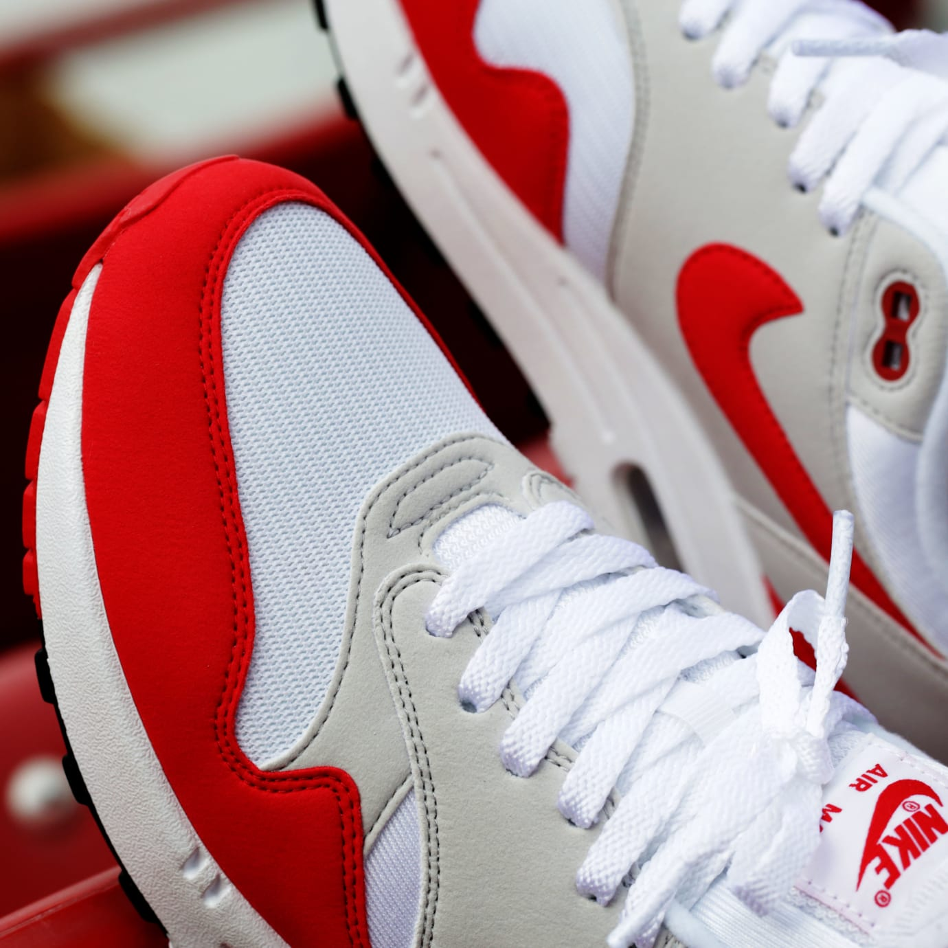 huge selection of 031ca 72e33 Nike Air Max 1 OG Sport Red Release Date Toe 908375-103