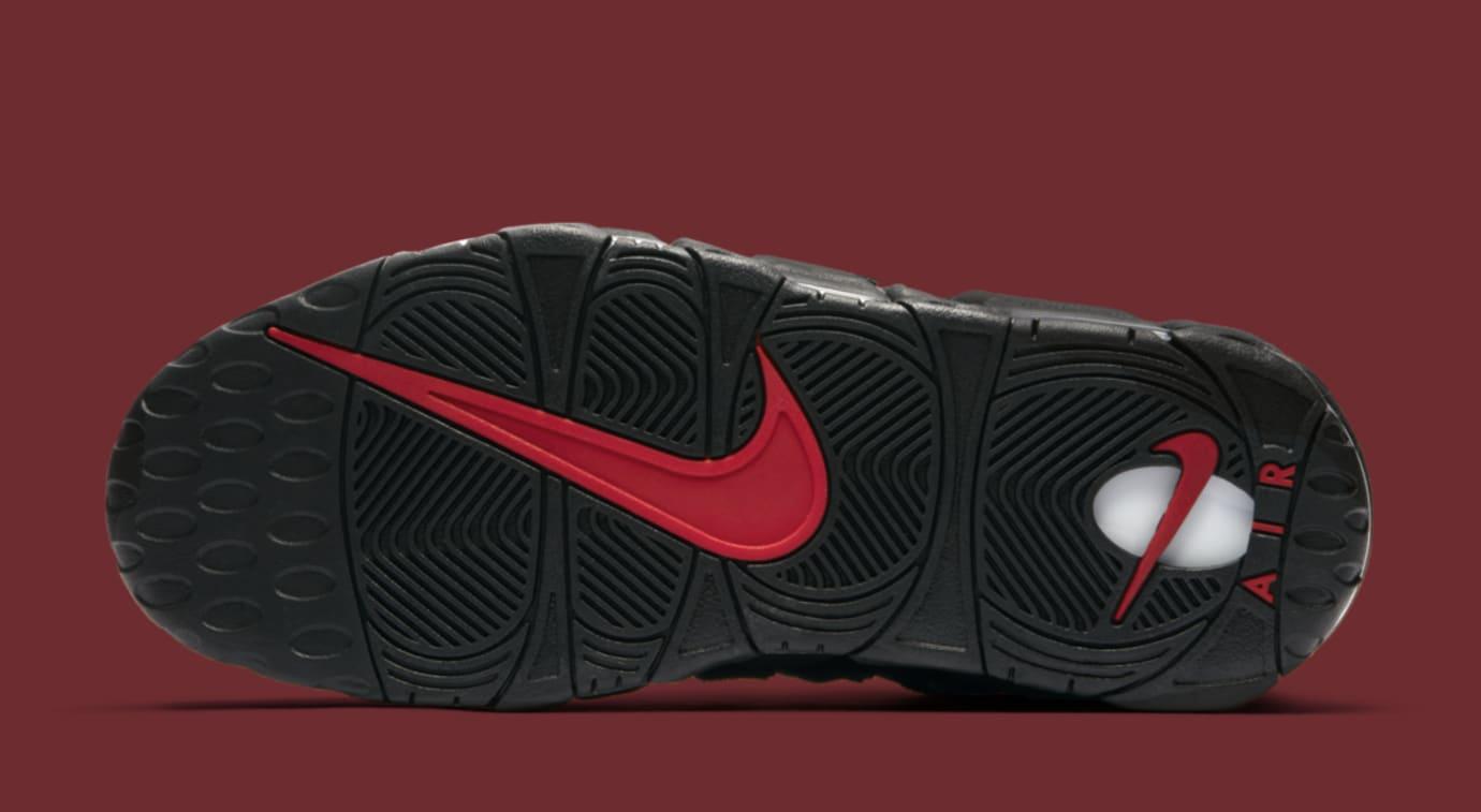 Black Supreme Nike Air More Uptempo 902290-001 Sole