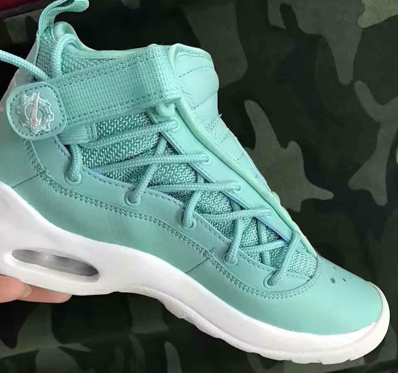 Nike Air Shake Ndestrukt Mint Green Teal Release Date Medial