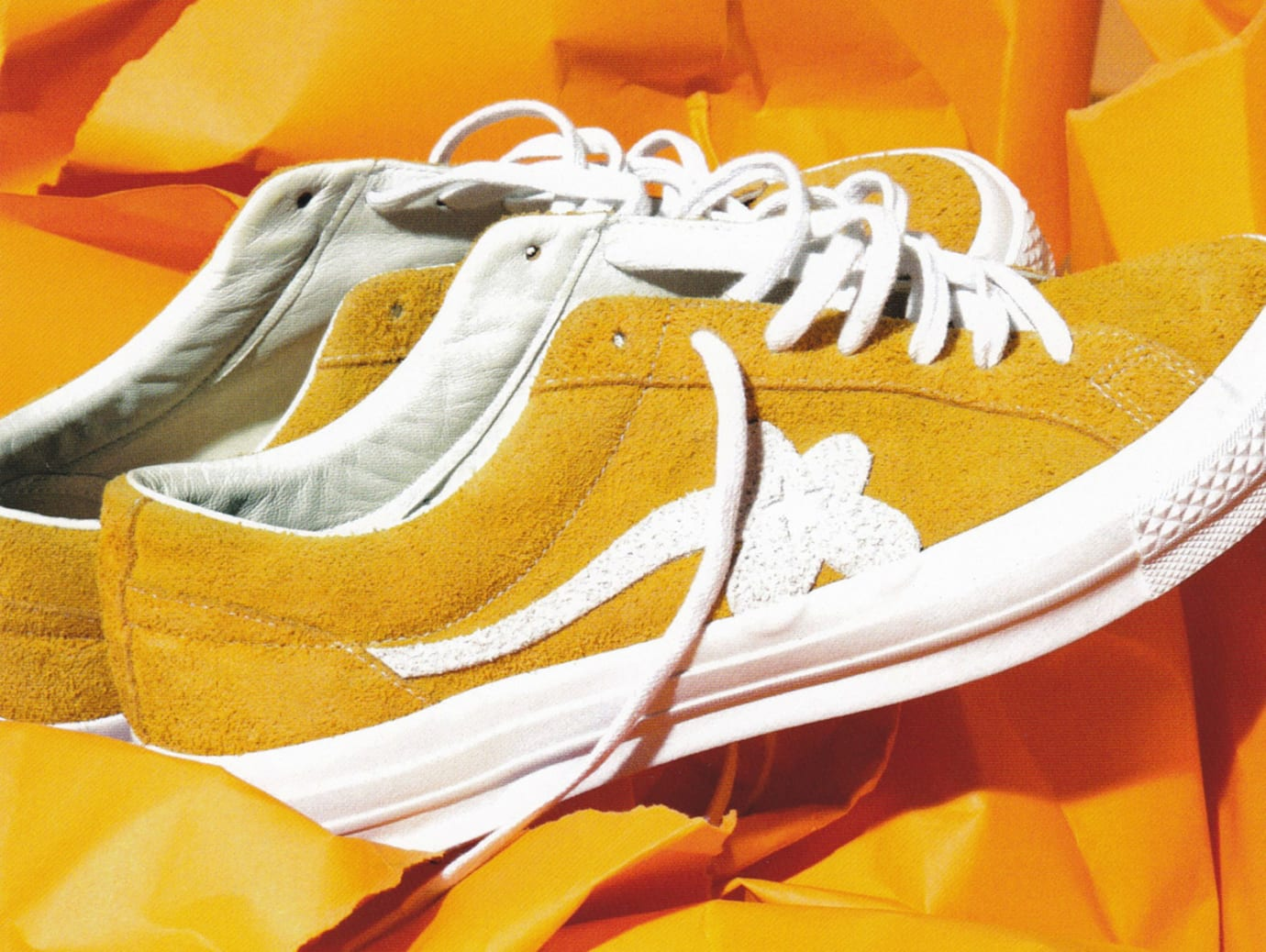 6459cd0883e7 Tyler the Creator Golf Le Fleur Converse One Star Sneakers