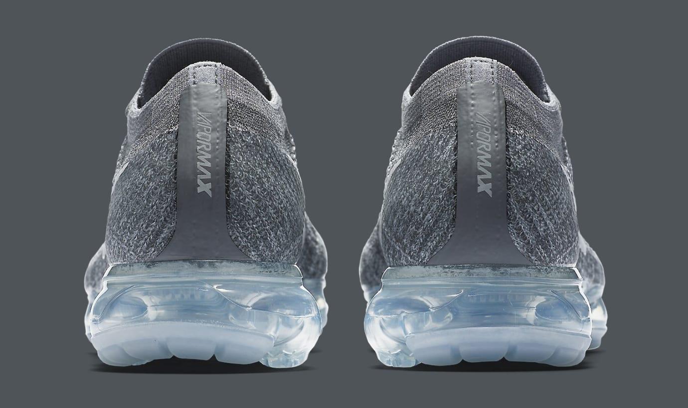 Nike Air VaporMax Dark Grey Pure Platinum 849558-002 Heel