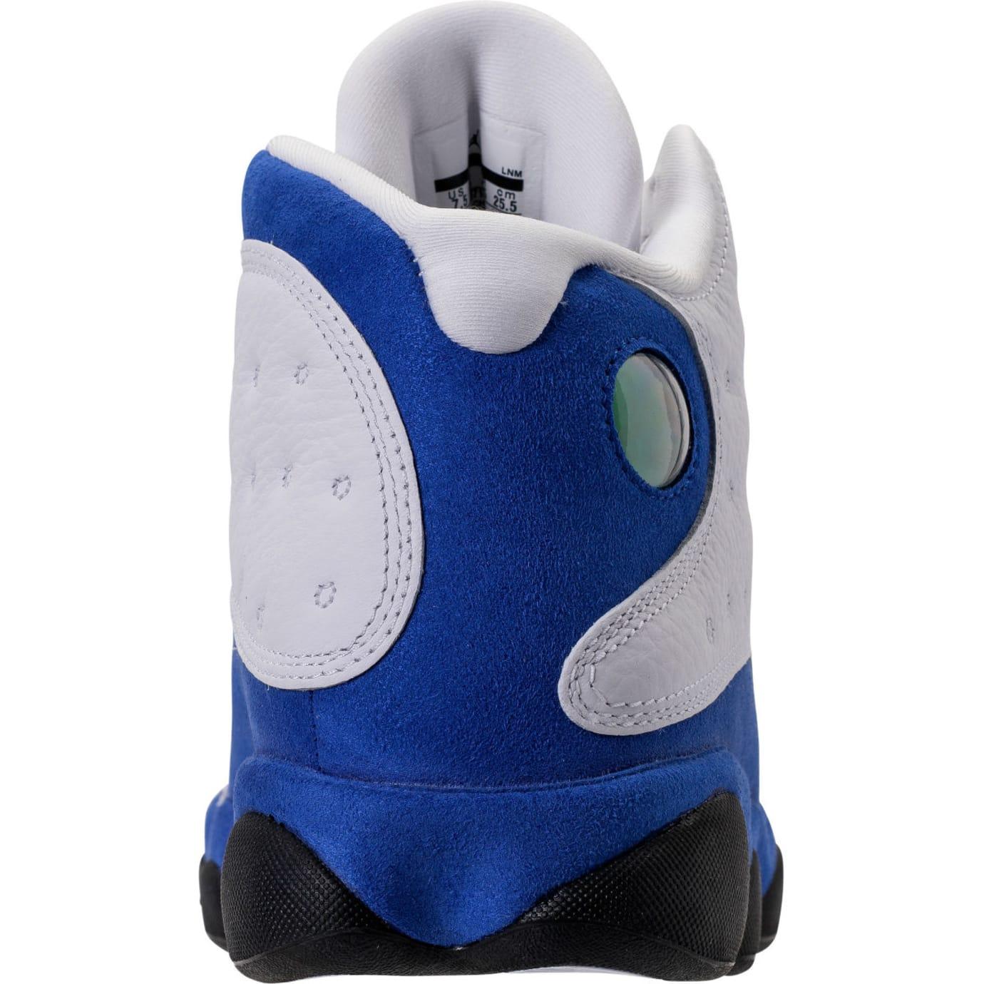 Air Jordan 13 XIII Hyper Royal Q-Rich Release Date 414571-117 Heel