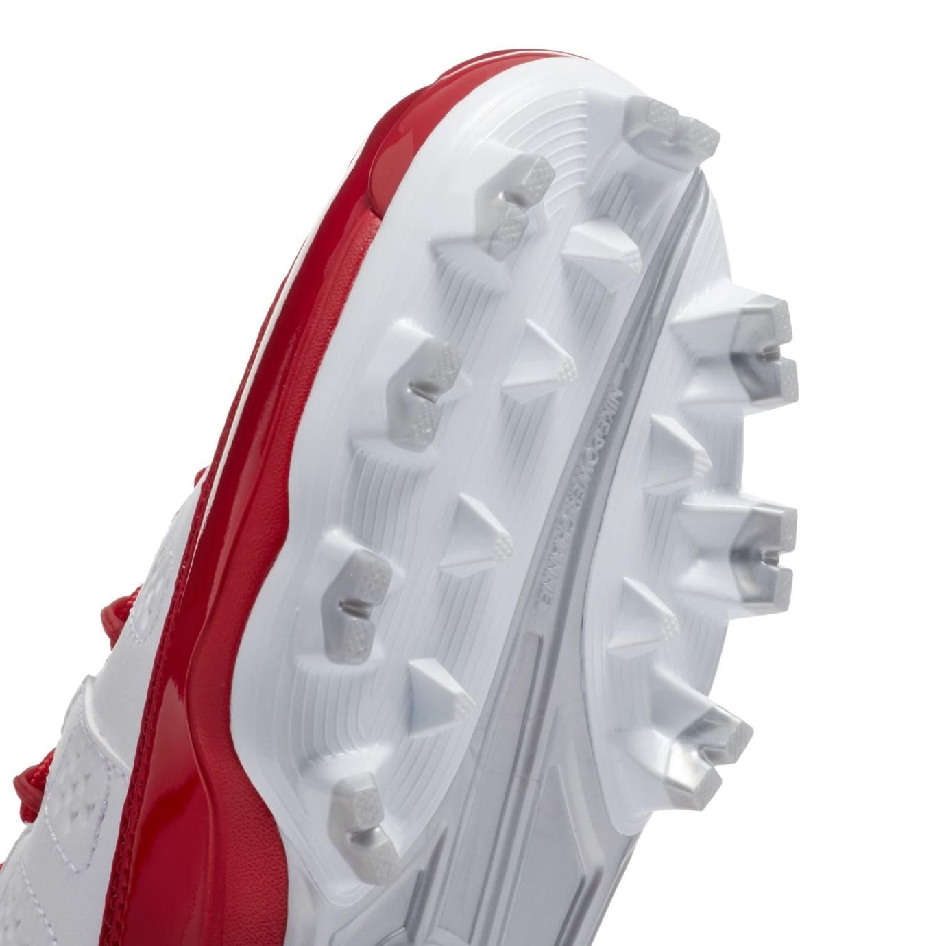 Air Jordan 9 IX MCS Baseball Cleats Red Cleat Plate