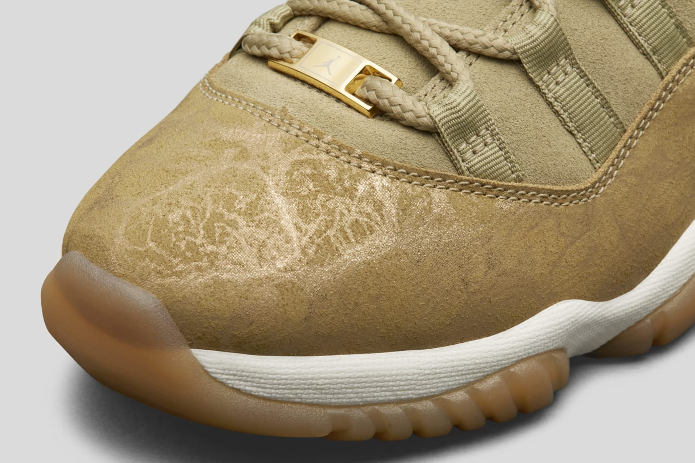 2c6fcd48a21 WMNS Air Jordan 11 'Olive' Release Date   Sole Collector