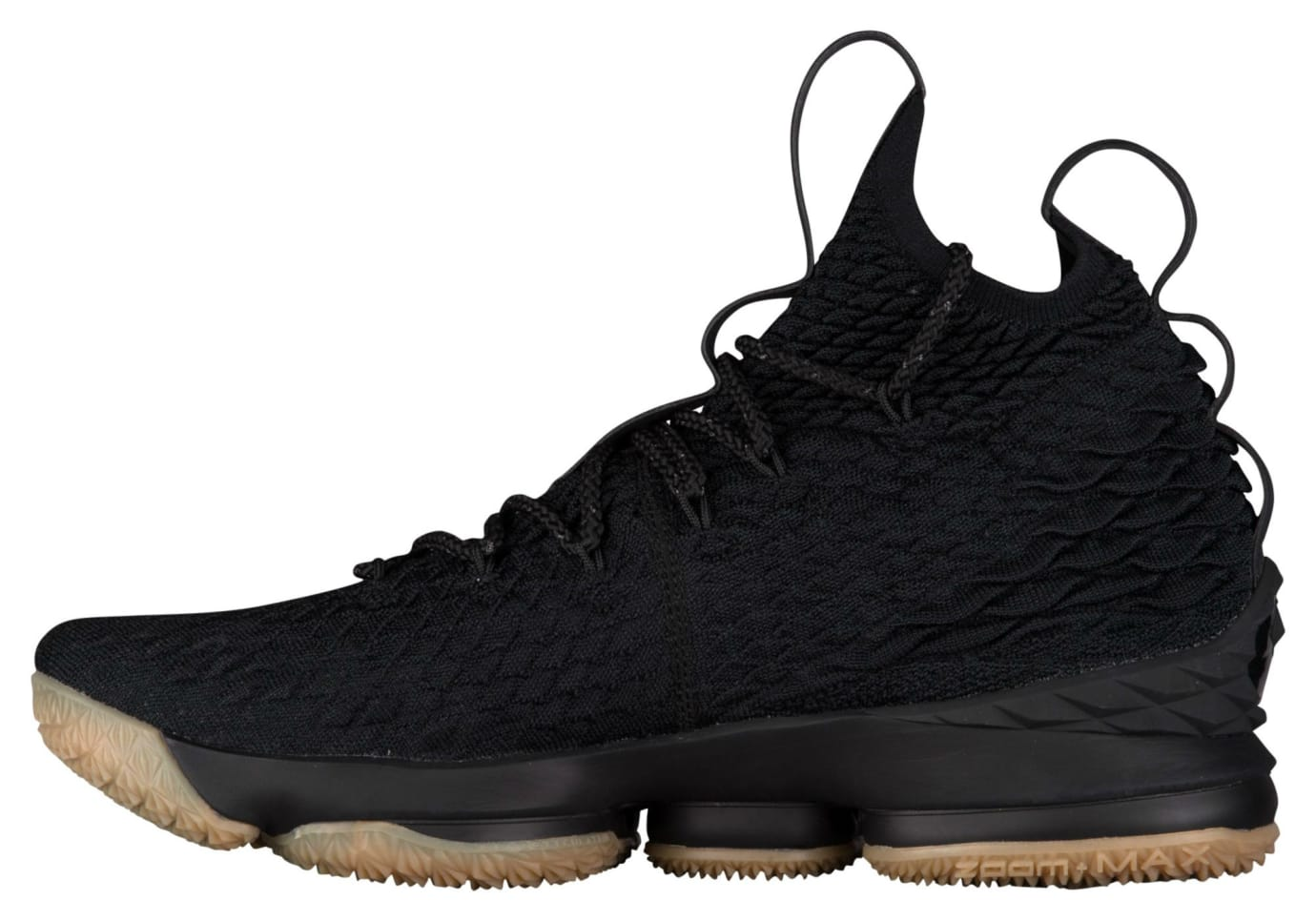 Nike LeBron 15 Black Gum Release Date 897648-300 Medial
