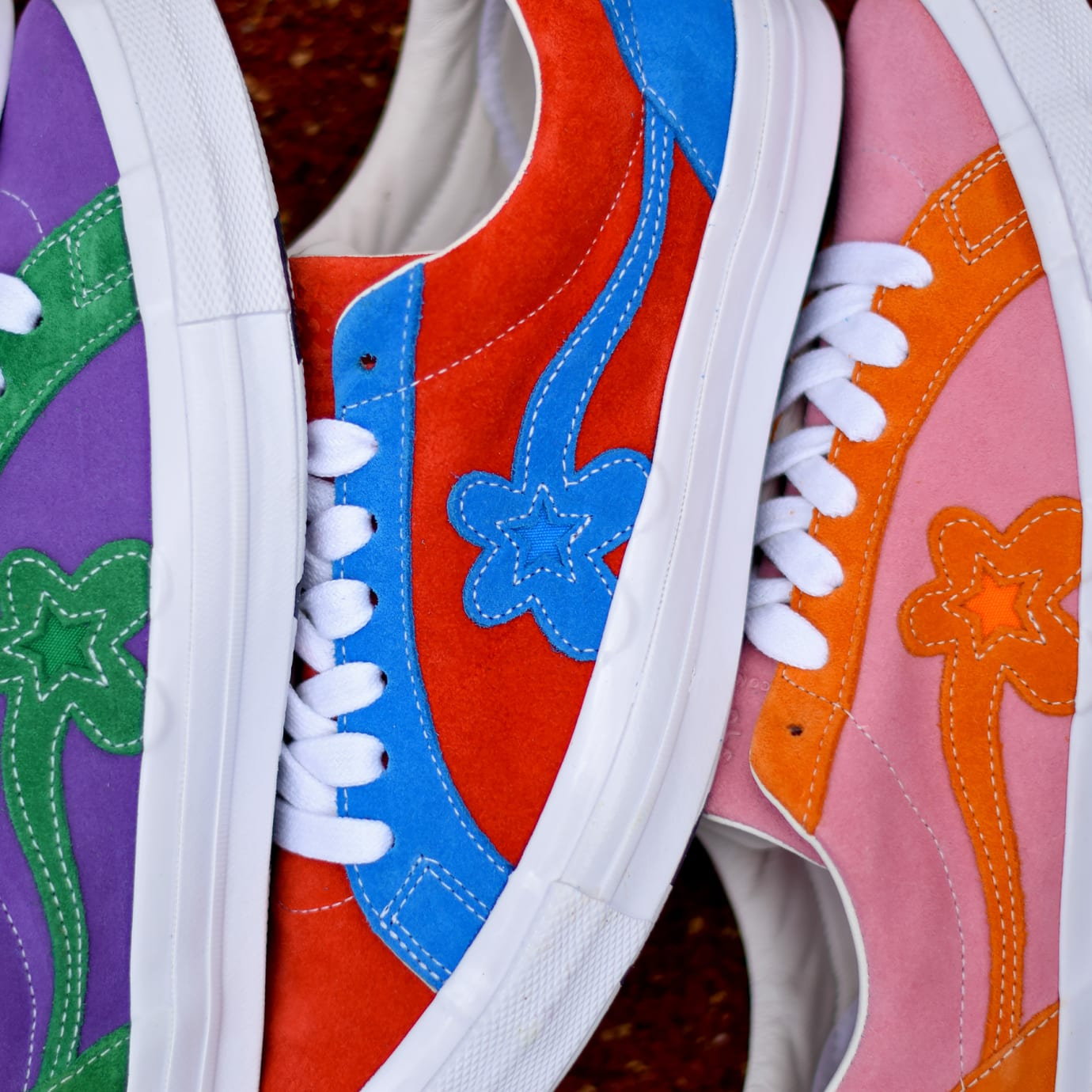 Tyler, the Creator x Converse One Star Golf Le Fleur Release Date Side