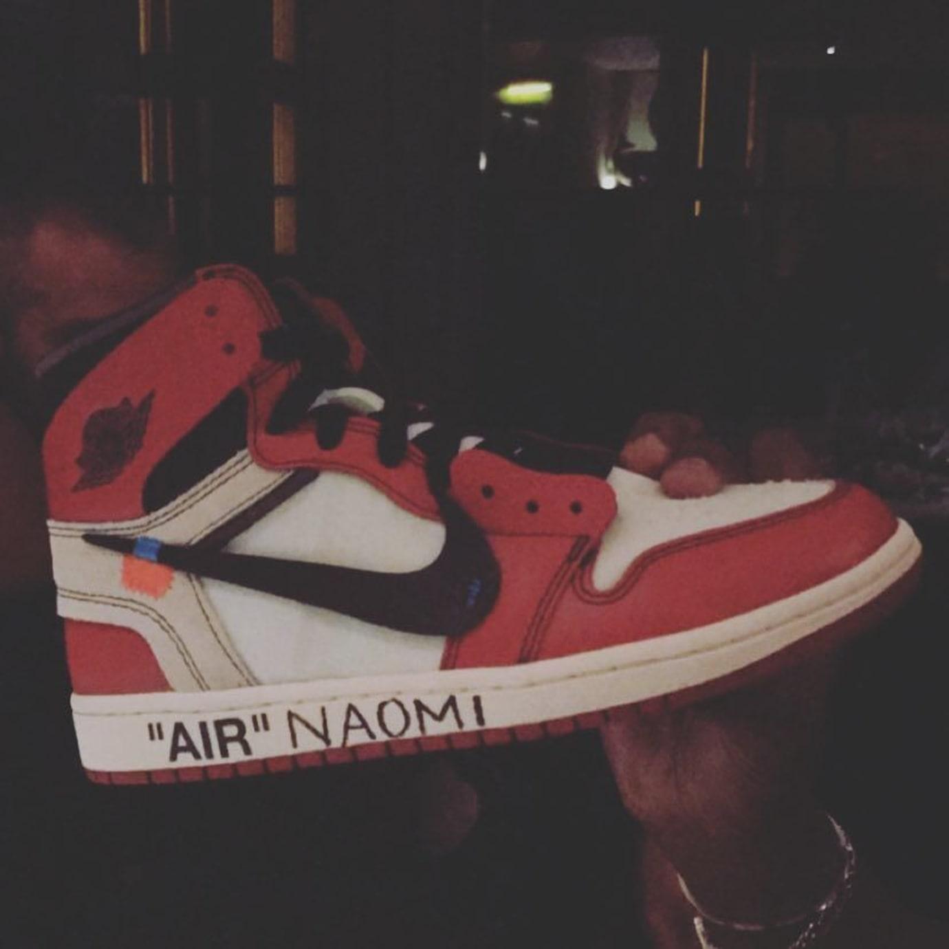 Naomi Campbell Off-White x Air Jordan 1