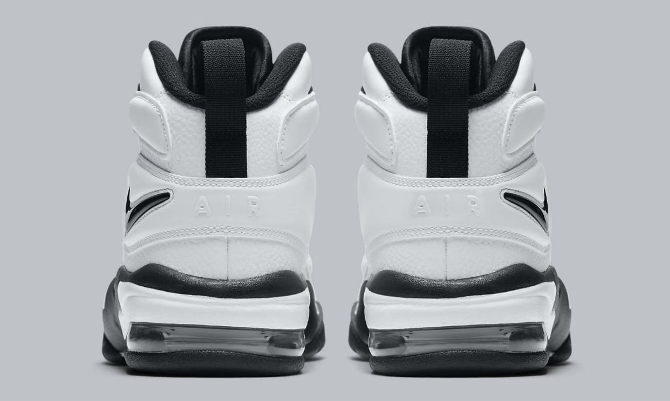 Nike Air Max2 Uptempo White/Black Release Date Heel 922934-102