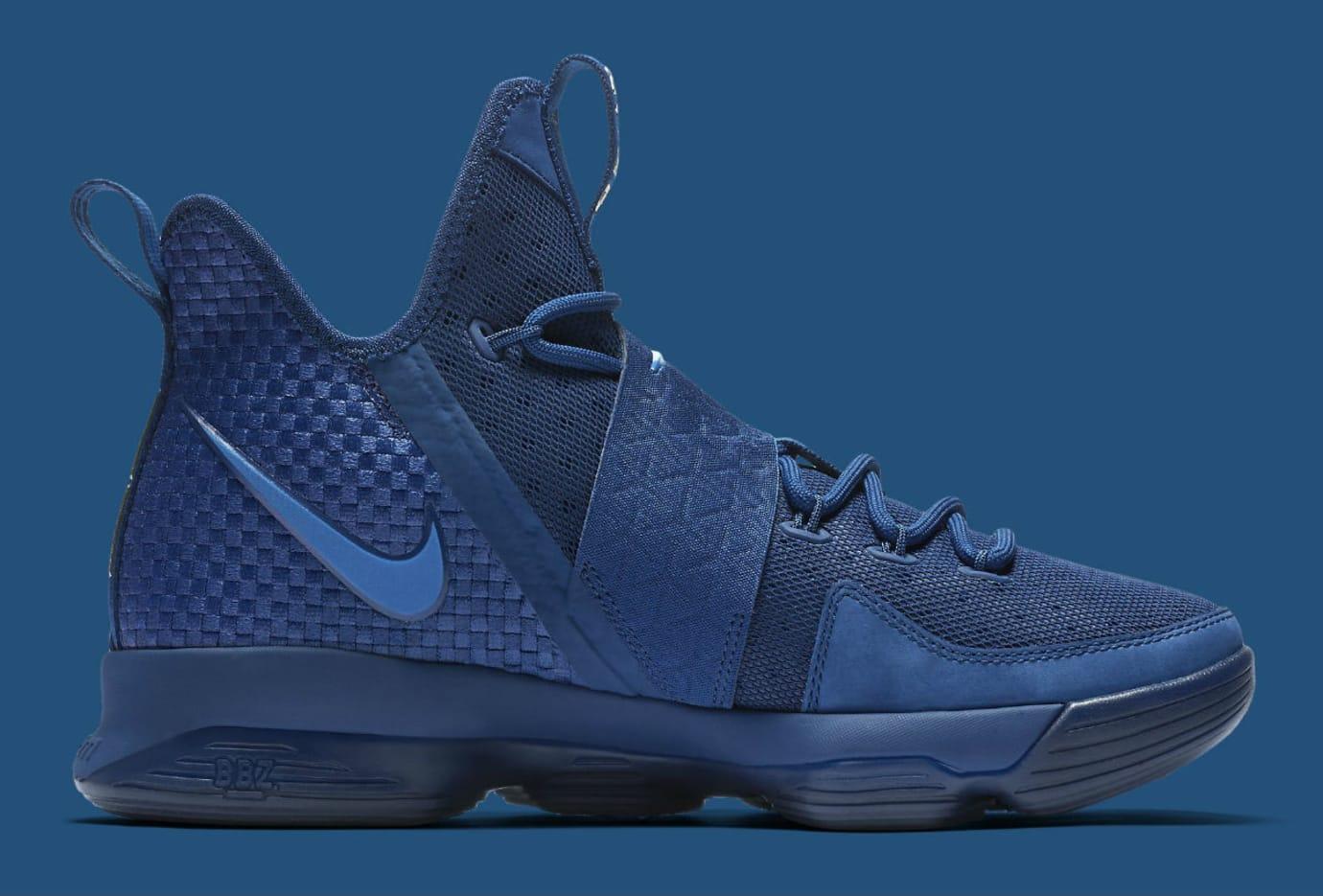 7aba217f3bb Nike LeBron 14 Agimat U.S. Release Date Medial 852402-400