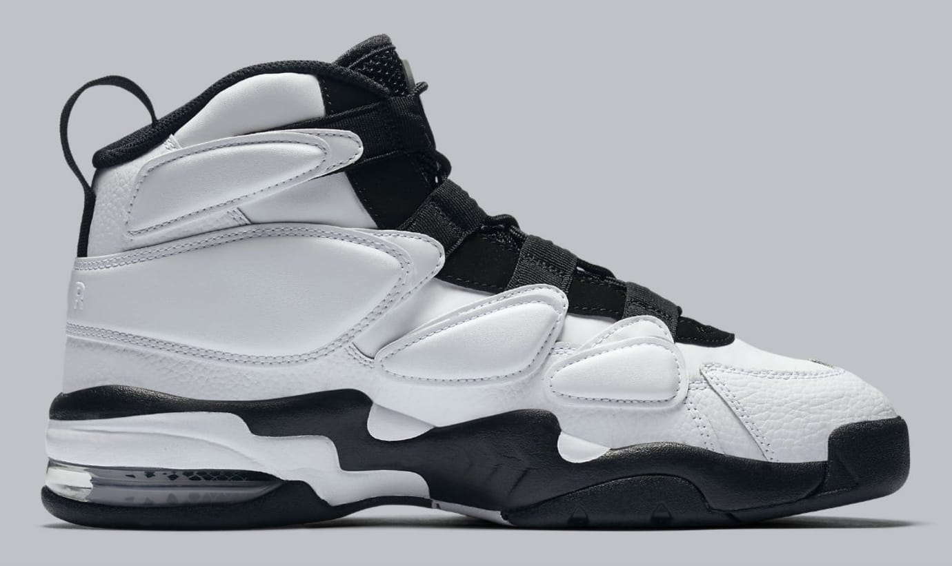 Nike Air Max2 Uptempo White/Black Release Date Medial 922934-102