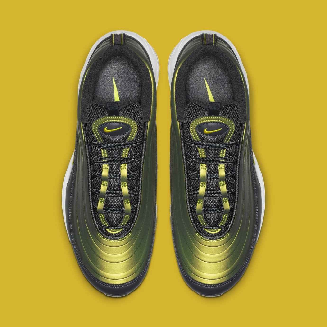 Nike Air Max 97 'Anthracite/Amarillo-Summit White' AV1165-002 (Top)