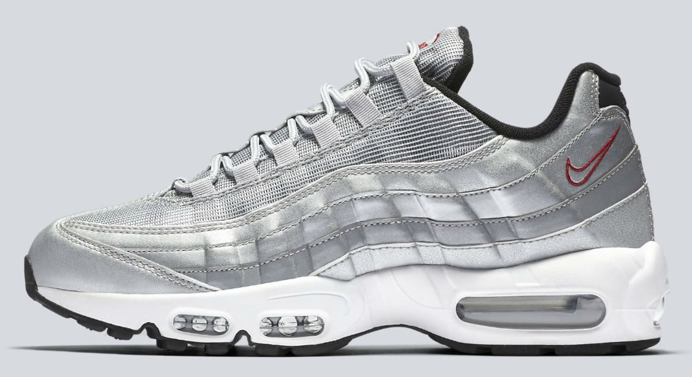 Nike Air Max 95 Silver Bullet Release Date Profile 918359-001