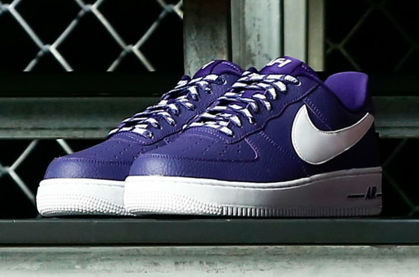 Nike Air Force 1 Low Statement Game NBA Logos Purple