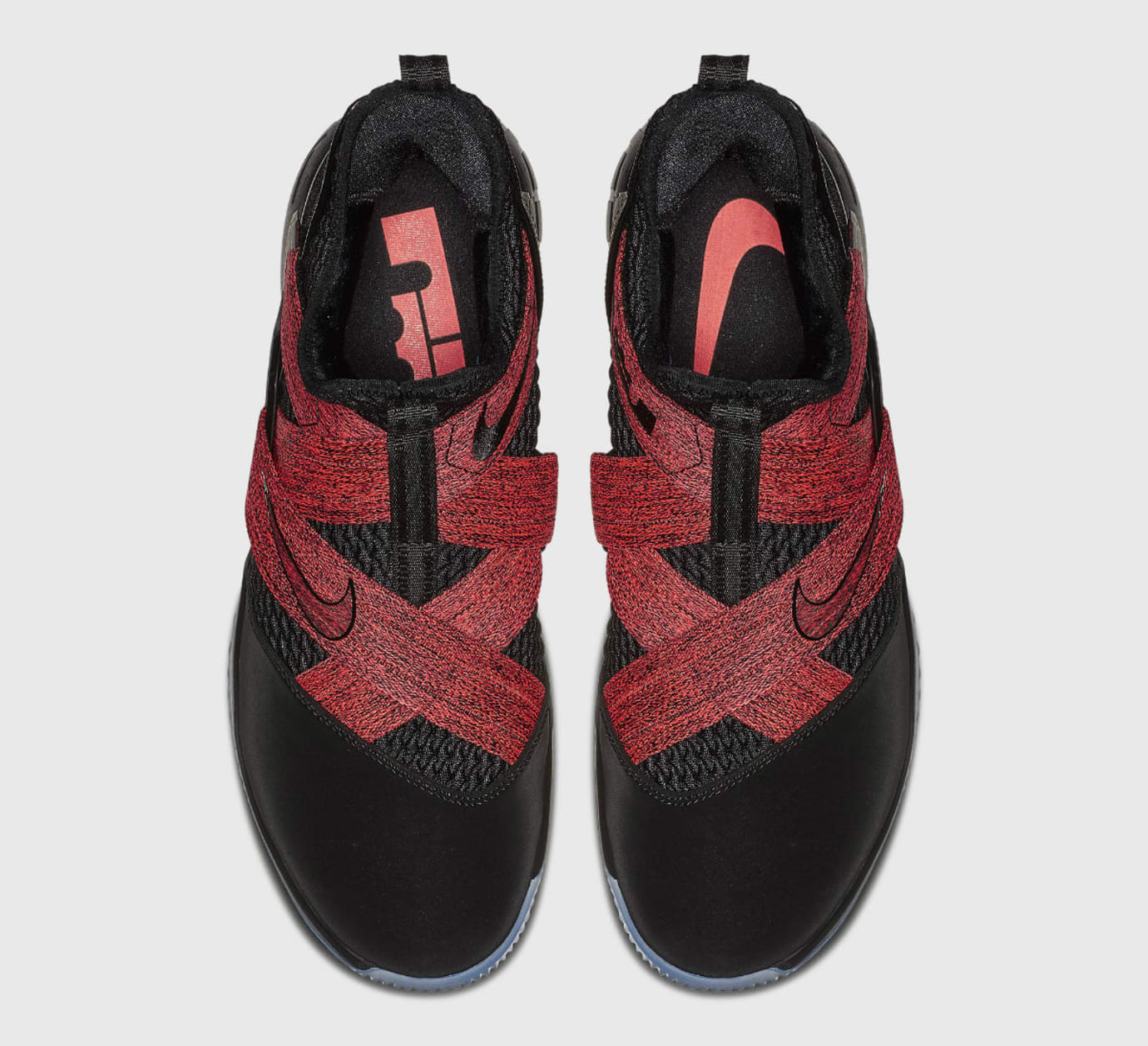 low priced d4336 3dd8c Image via Nike Nike LeBron Soldier 12 XII Bred Release Date AO2609-003 Top