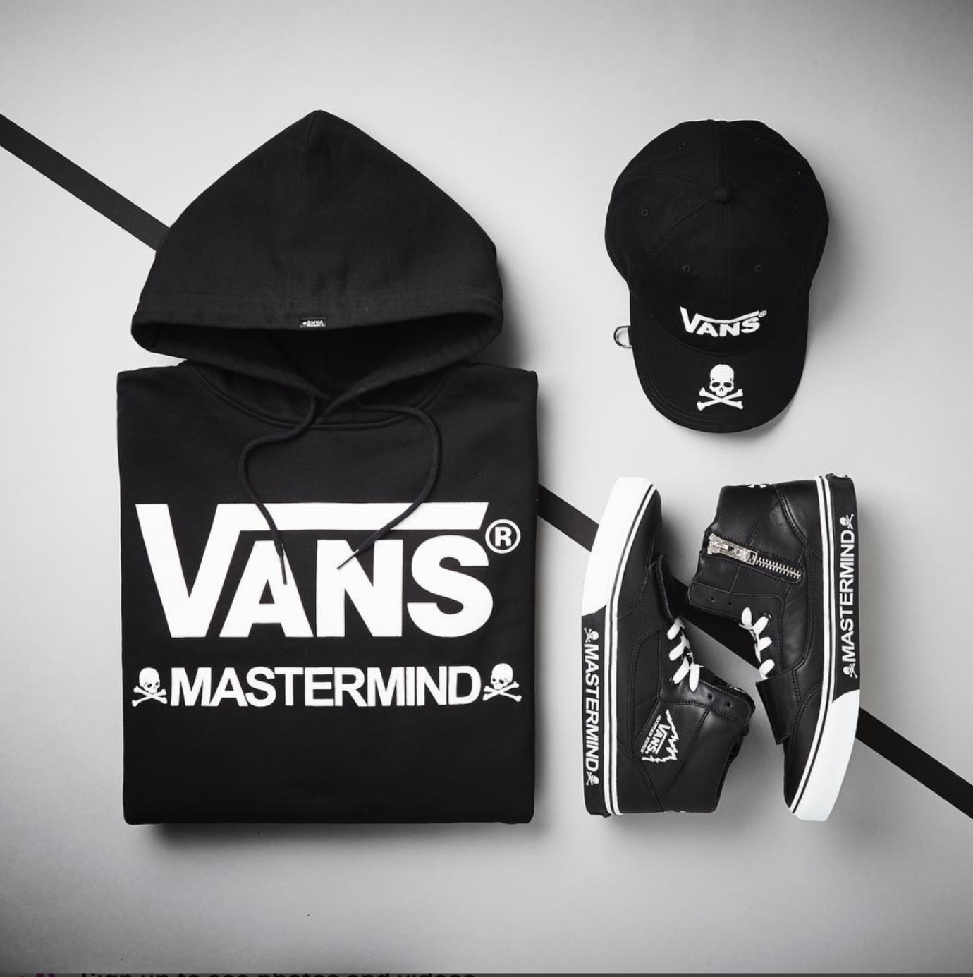 Vans Japan x Mastermind Collaboration