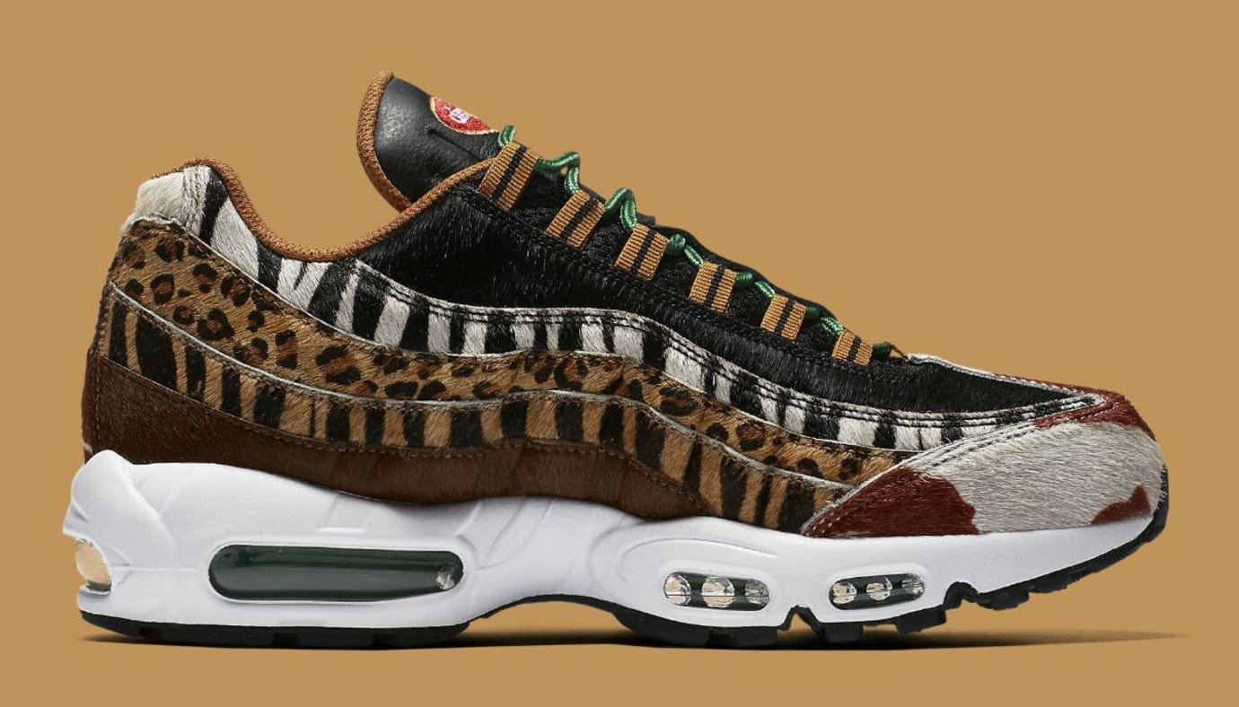 Atmos x Nike Air Max 95 Animal Pack Release Date AQ0929-200 Medial