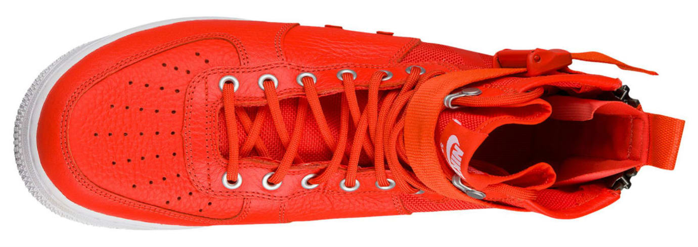 Nike SF Air Force 1 Mid Team Orange Release Date Top 917753-800