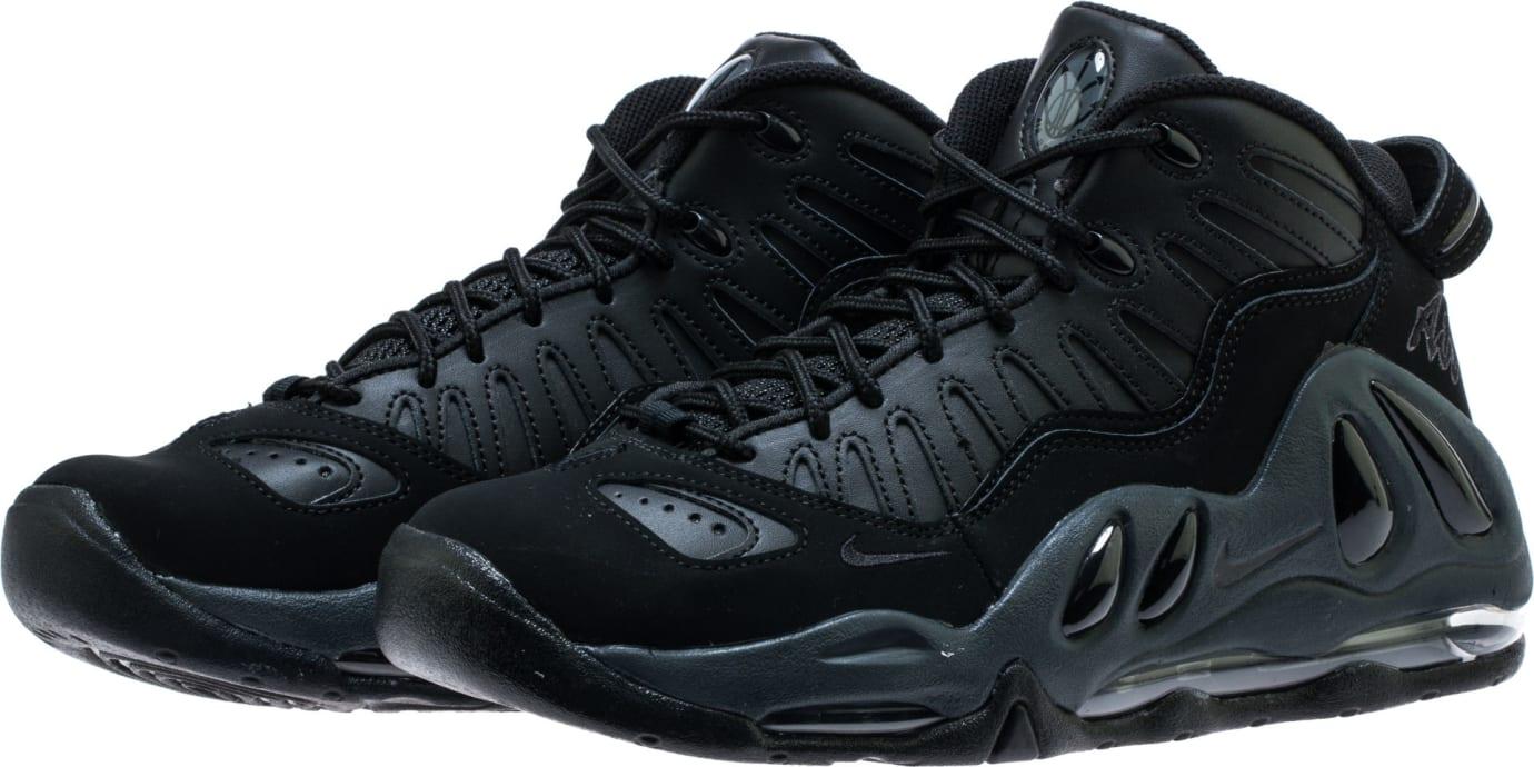 Nike Air Max Uptempo 97 'Triple Black' 399207-005 Toe