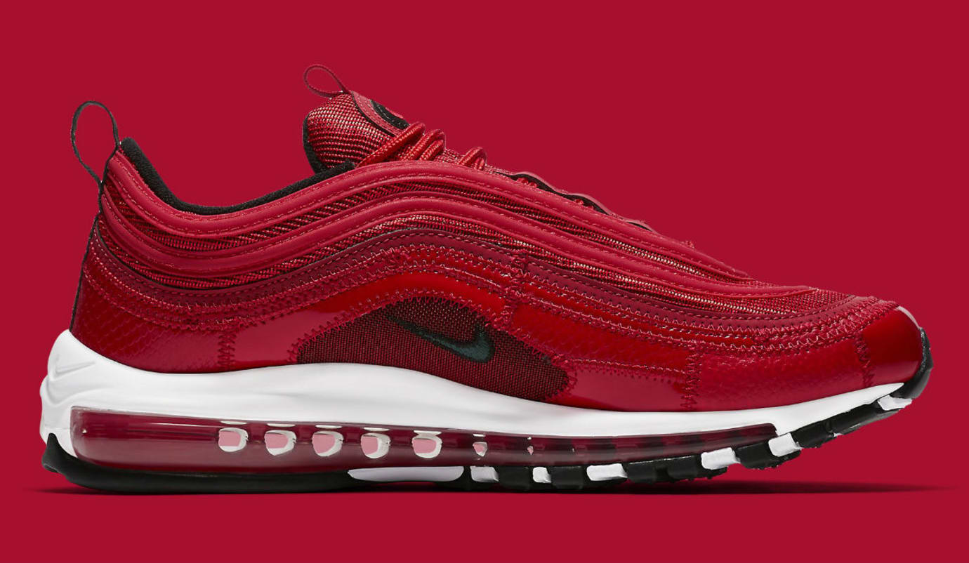 Nike Air Max 97 Patchwork CR7 Ronaldo Red Release Date AQ0655-600 Medial