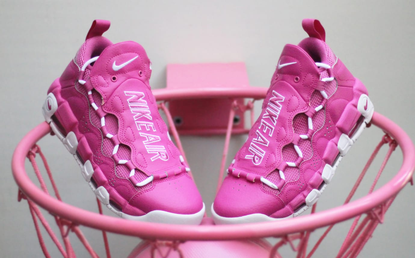 15e3a86bed9 Image via Sneaker Room Sneaker Room Nike Air Money Breast Cancer Awareness  Pink