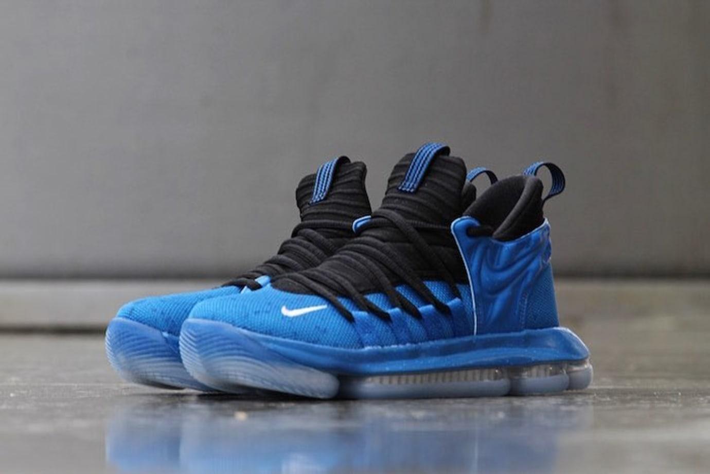 3f5ff739716 Nike KD 10 GS Foamposite Royal Release Date AJ7220-500
