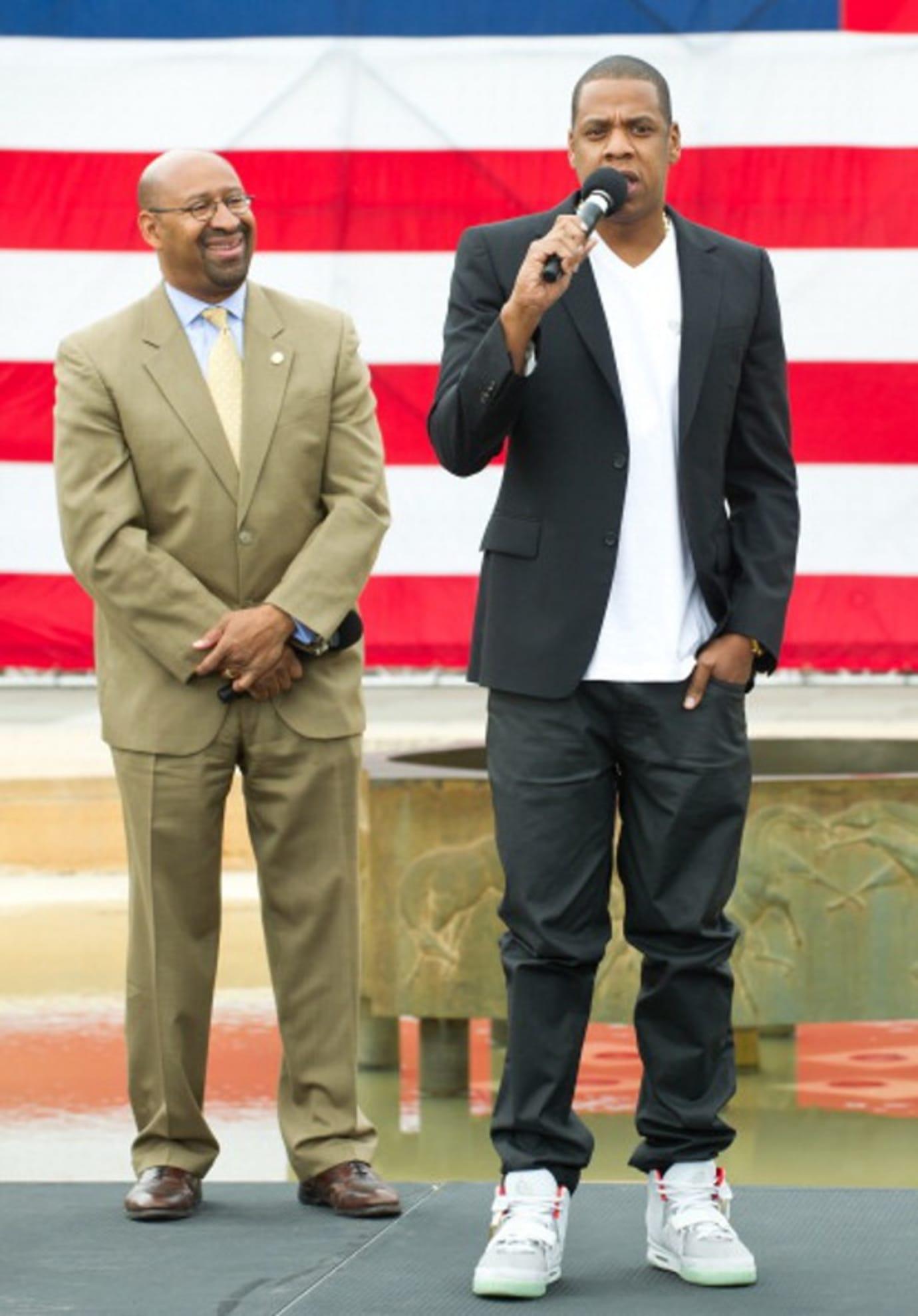 Jay-Z Nike Air Yeezy 2 Platinum