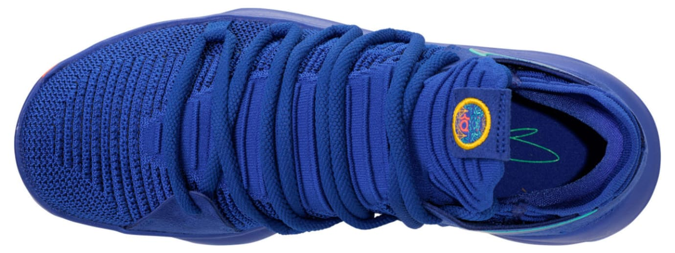 Nike KD 10 City Edition Release Date 897815-402 Top