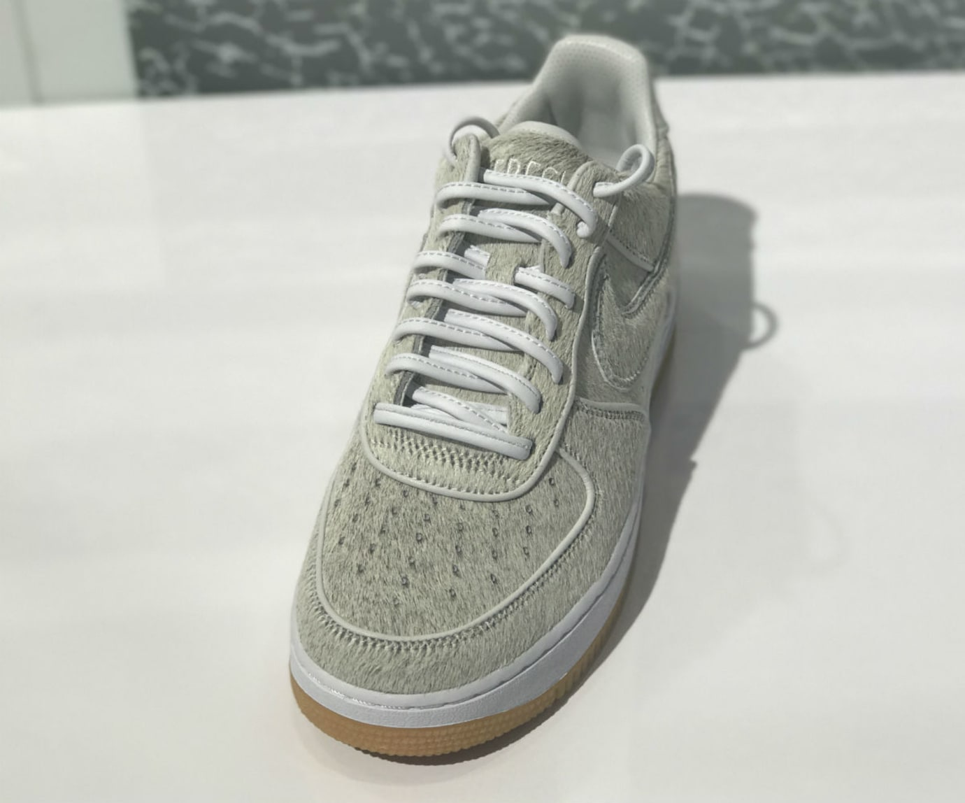 DJ Clark Kent x Nike Air  Force 1 Low Got White Front