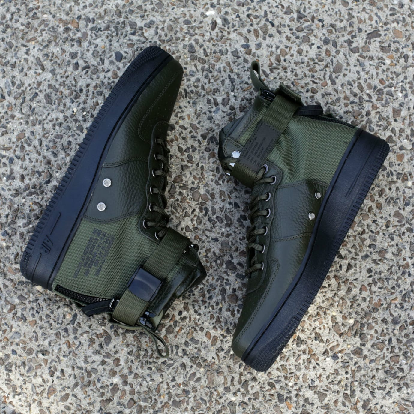 Nike SF-Air Force 1 Mid Sequoia Release Date Main 917753-300