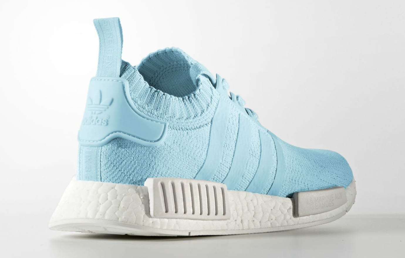 Adidas NMD R1 Primeknit Ice Blue Release Date Lateral BY8763
