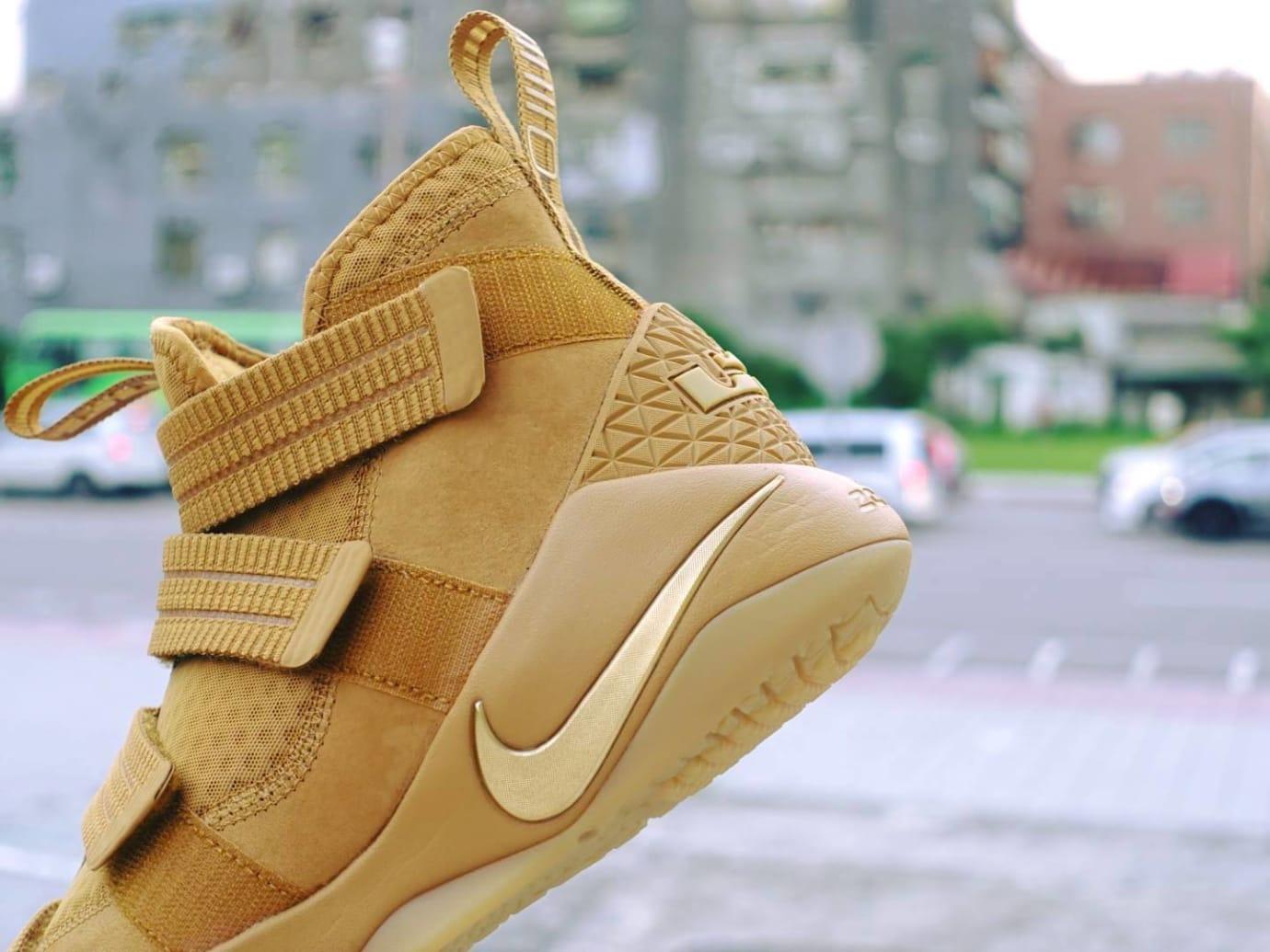 2c2fddea2fe Nike LeBron Soldier 11 SFG Wheat Release Date 897647-700 (4)