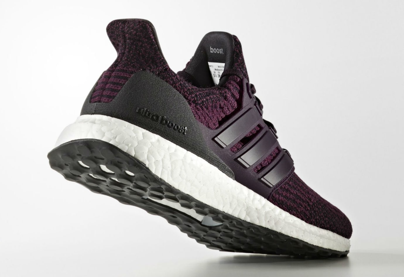 13b1993bf5424 Adidas Women s Ultra Boost 3.0 Red Night Release Date Lateral S82058