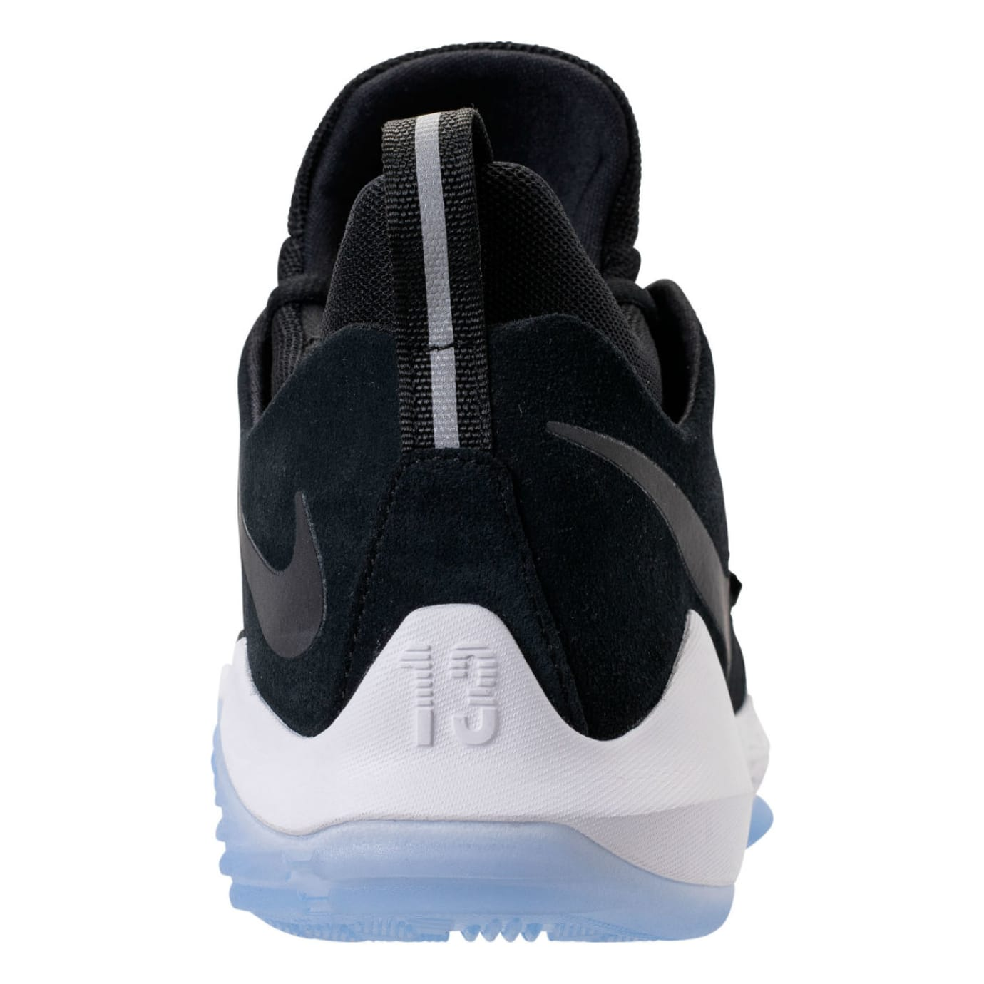 hot sales 4fb38 3be39 Nike PG1 Black White Hyper Turquoise Release Date Heel 878627-001