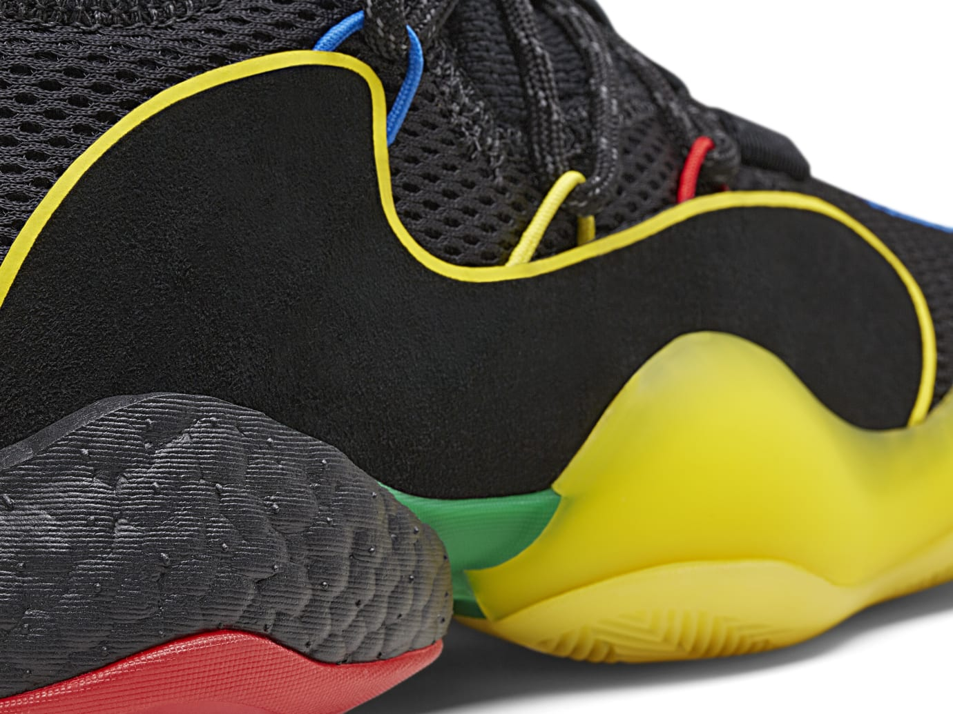00a80f038 Pharrell x Adidas Crazy BYW X  Core Black Green Supplier Color ...