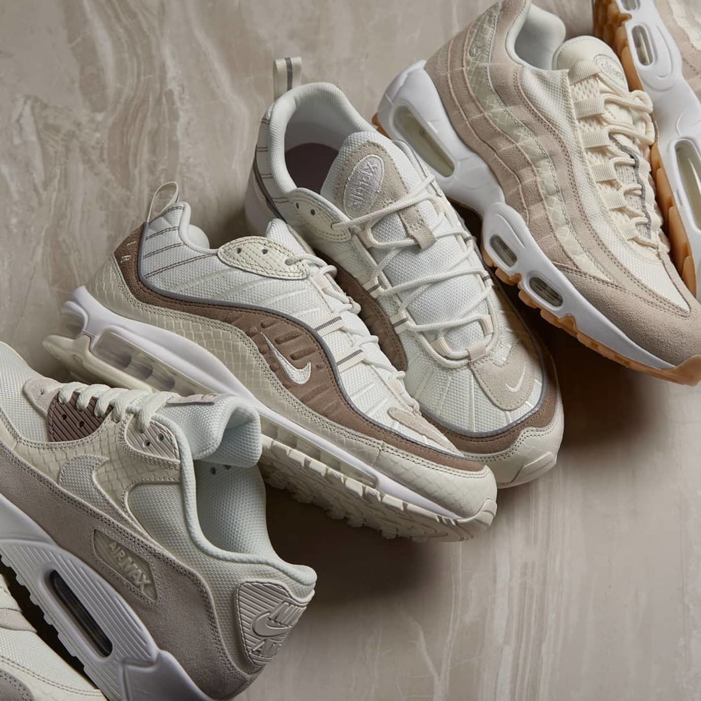 best sneakers 5063c 4d721 Nike Air Max  Snakeskin  Pack AO9380-100 700155-102 538416-102