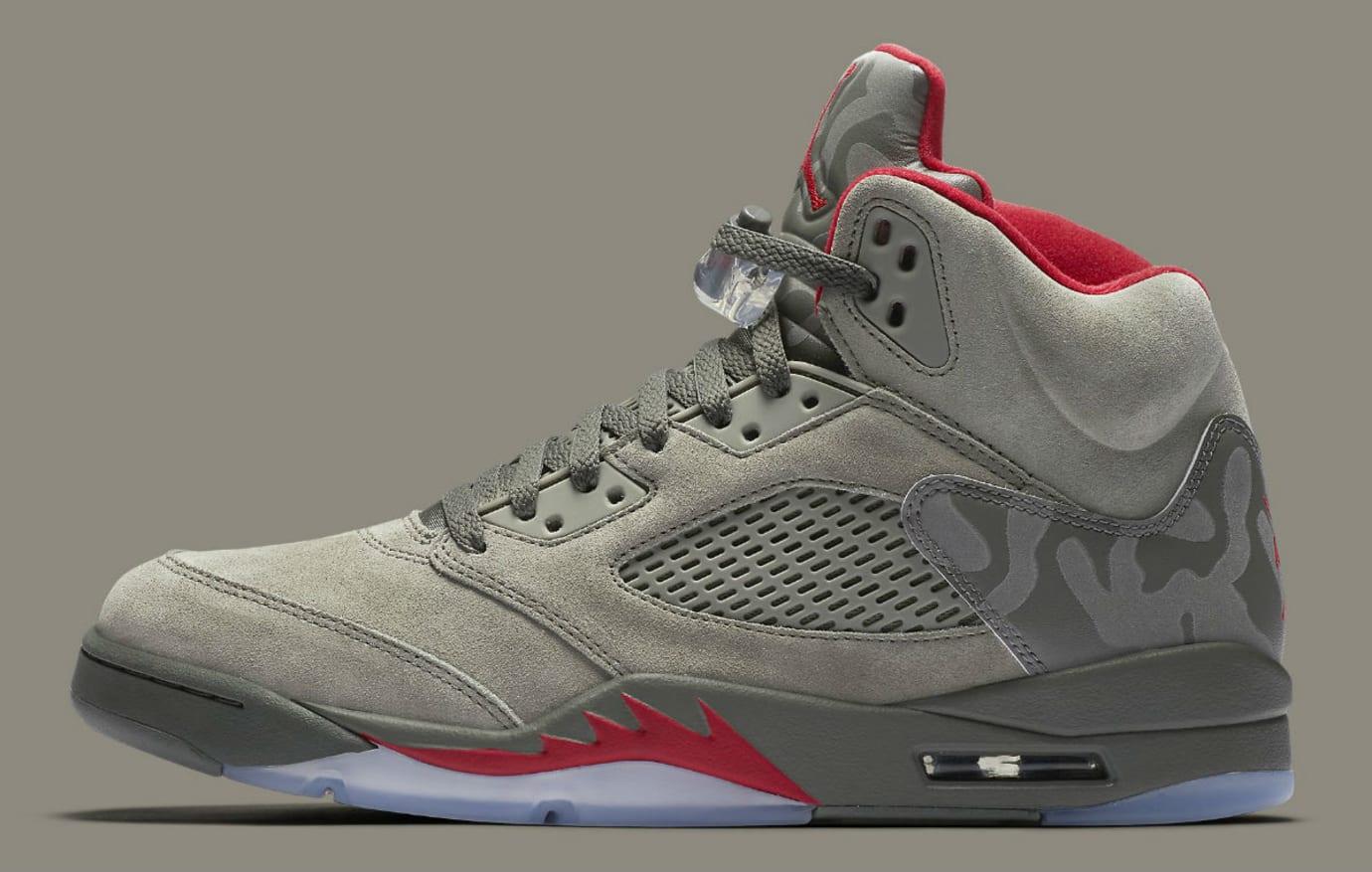 Air Jordan 5 Camo Release Date Profile 136027-051