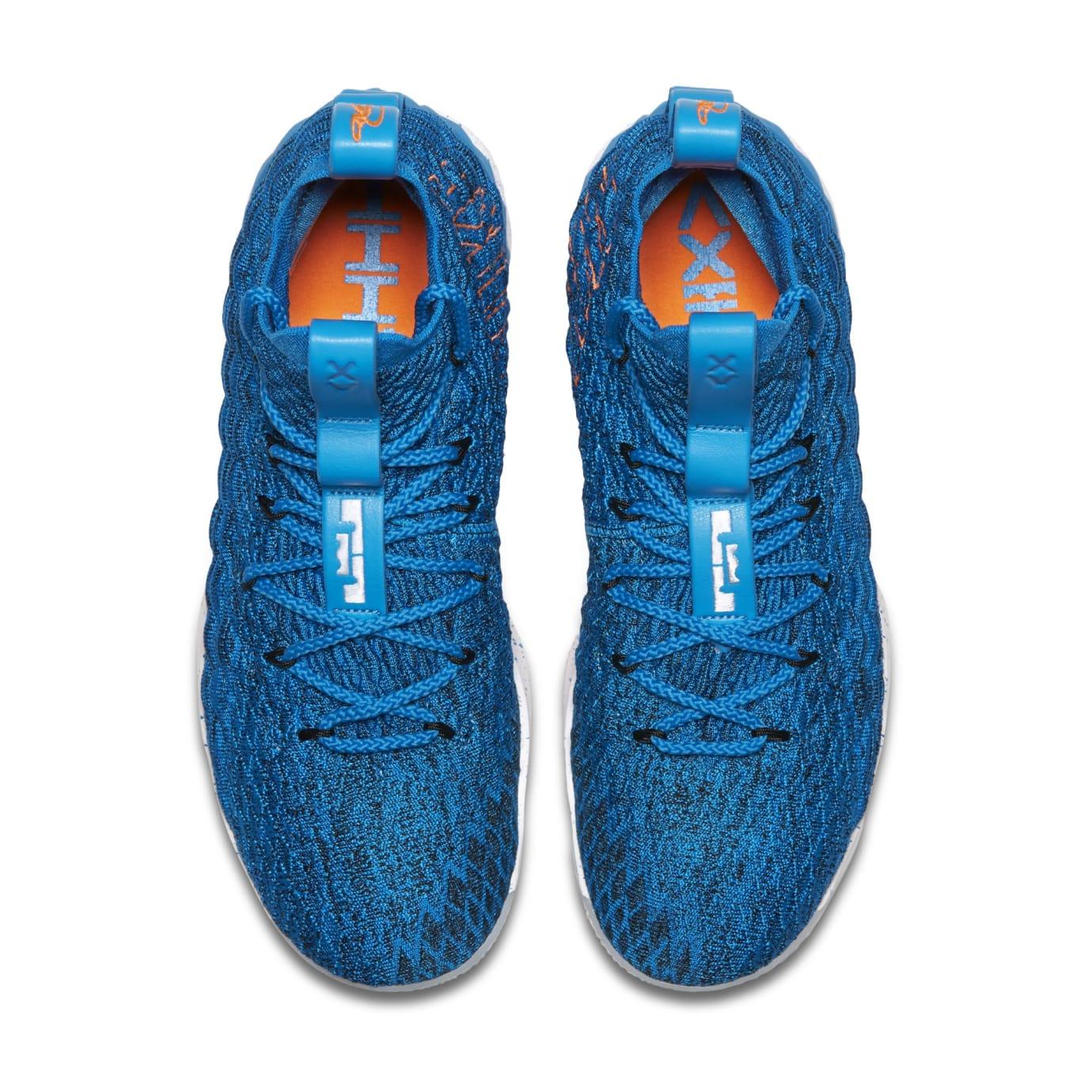 79942e8ab684 Image via Nike Nike LeBron 15  HWC  897648-400 (Top)