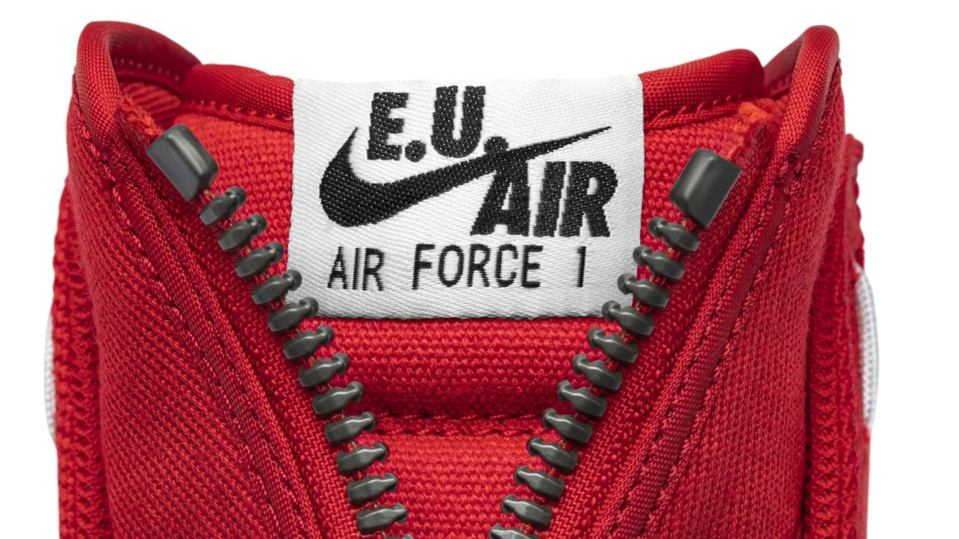 Emotionally Unavailable x Nike Air Force 1 High (Tongue)