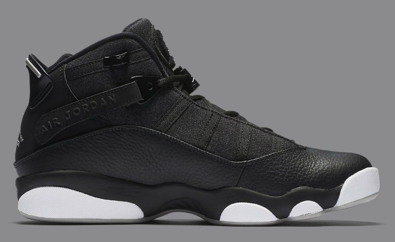 c4961fb56ece Jordan 6 Rings 2017 Black Silver Release Date Medial 322992-021