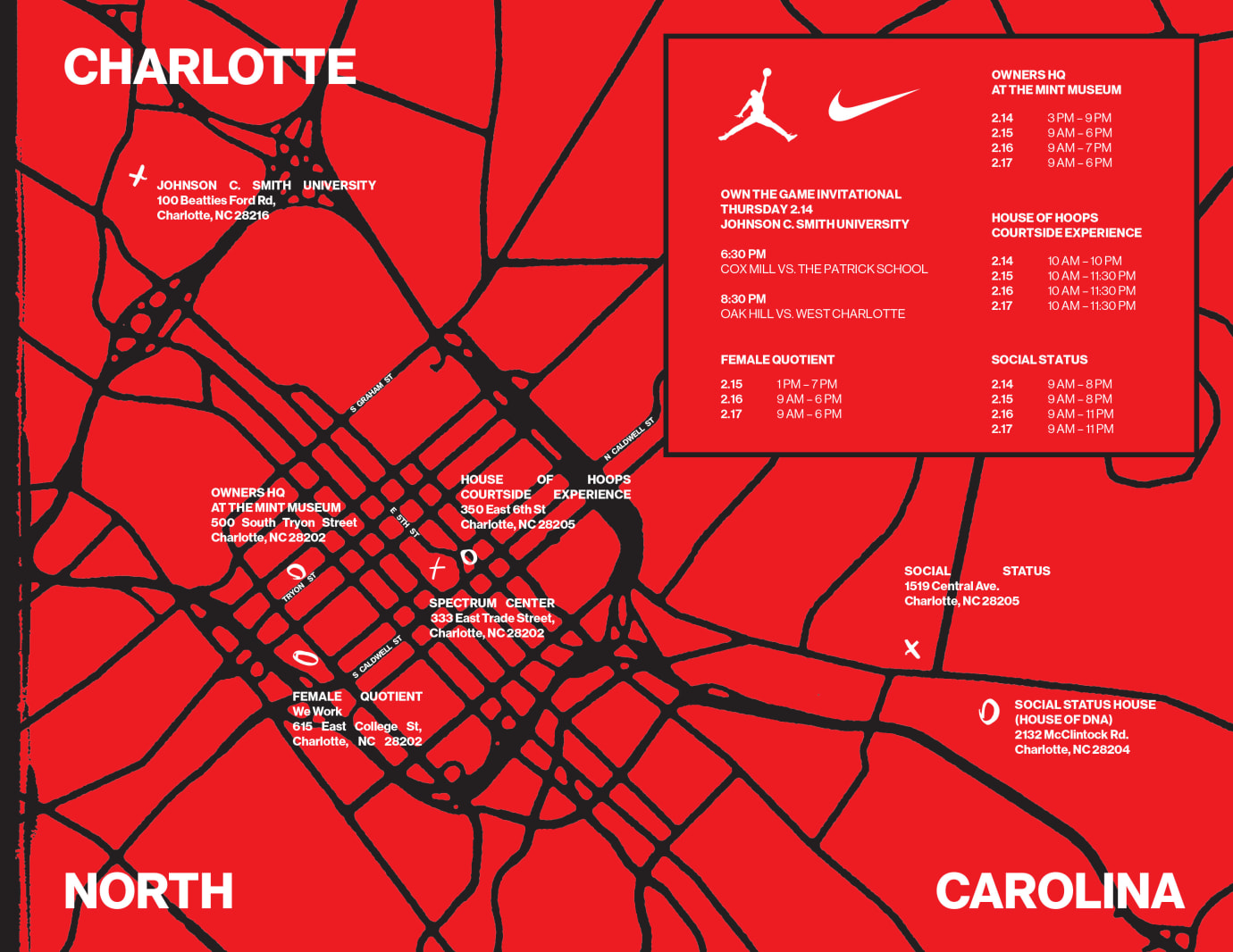 Nike/Jordan Brand 2019 NBA All-Star Weekend Charlotte Events 1