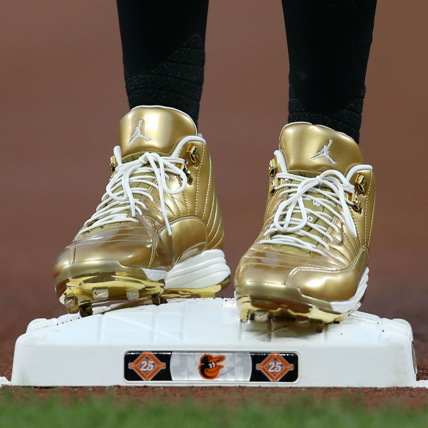 Air Jordan 12 Childhood Cancer Awarenes Manny Machado
