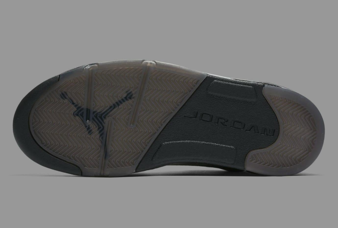 b80ed1912e64 Air Jordan 5 Premium Black Release Date Sole 881432-010