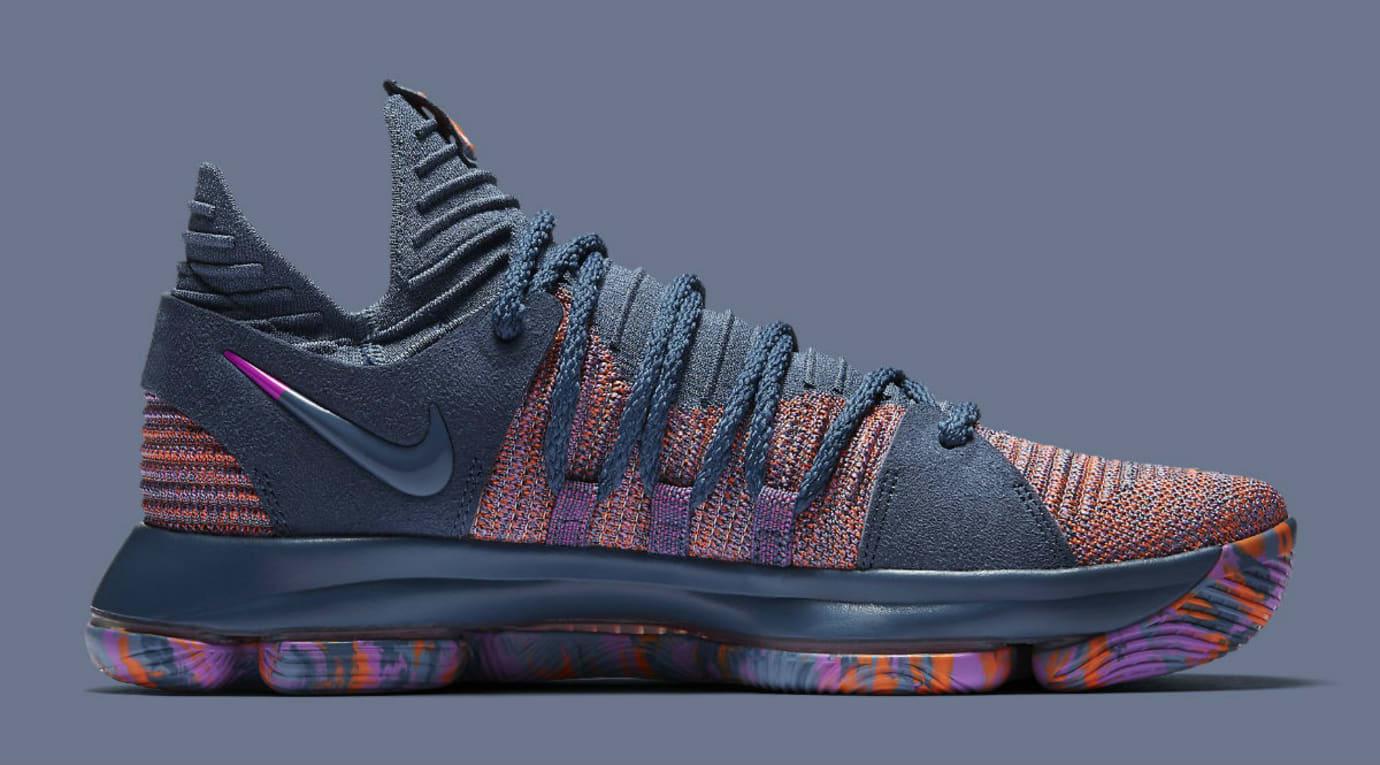 Nike KD 10 All-Star Release Date 897817-400 Medial