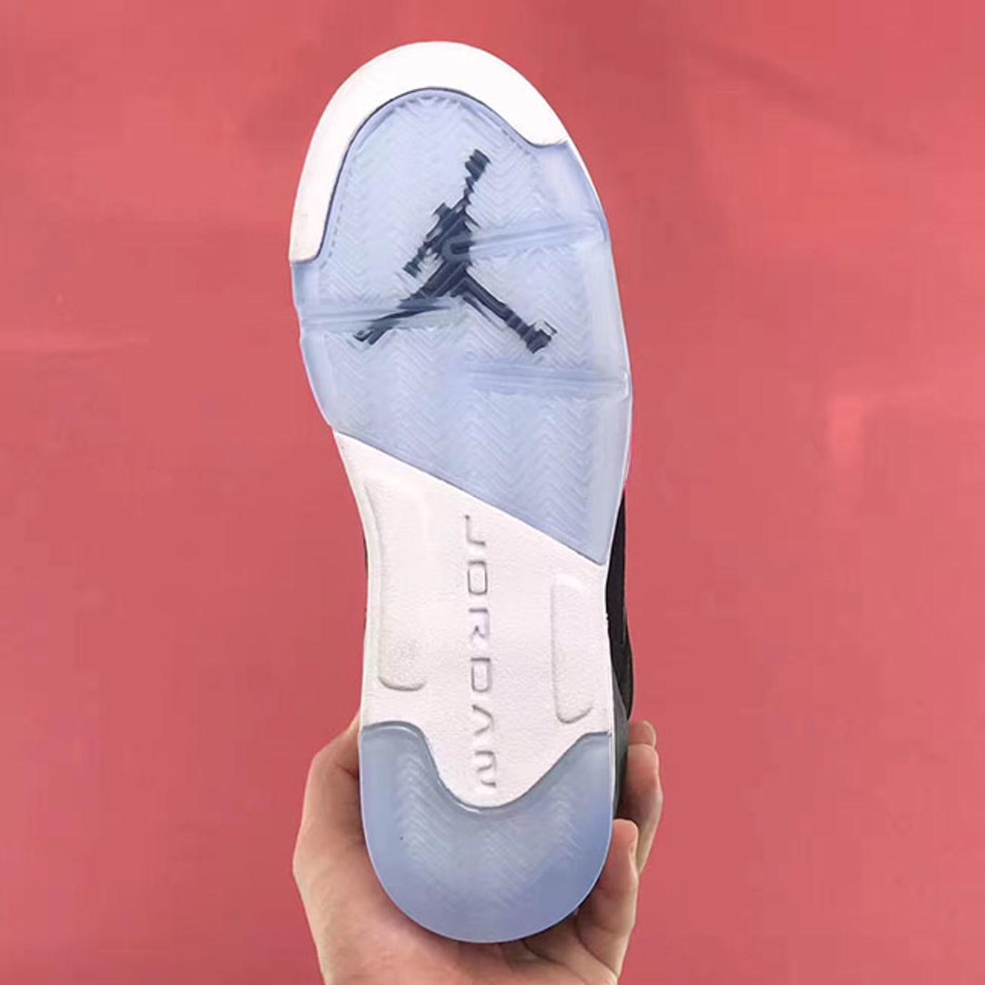 Air Jordan 5 GS Deadly Pink Release Date Sole 440892-029