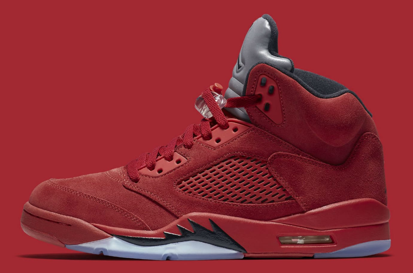 Air Jordan 5 Red Suede Release Date Profile 136027-602